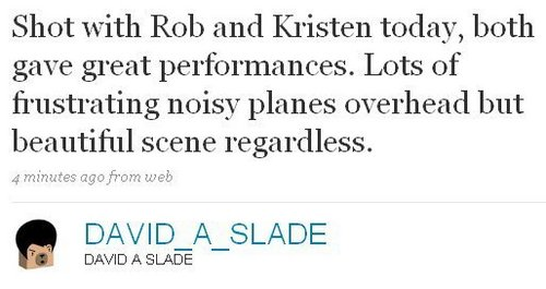 From Slade's Twitt 25th aug (at least, we know rob& kris are alive...as we never see them !!!)