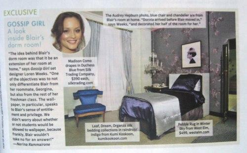 Gossip Girl - Magazine Scan