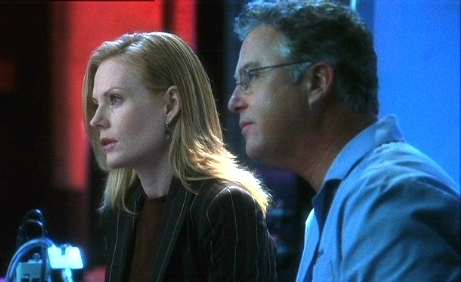 Grissom and Catherine