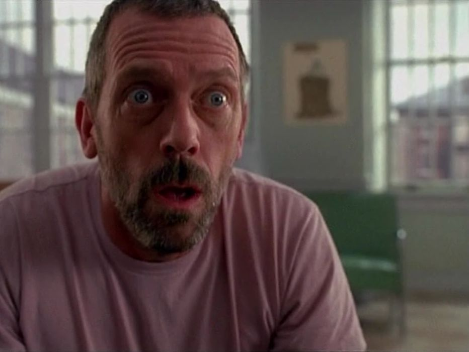 What does Hugh Laurie (Dr. House) do at night 44