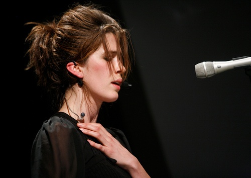 Imogen at PopTech '08