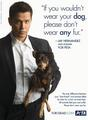 Jay Hernandez and Donner for PETA - peta photo
