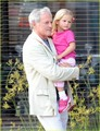 Jen and violet with Victor Garber