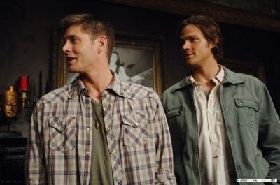 Jensen on Set सूपरनॅचुरल