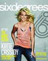 Katie Cassidy In Six Degrees Magazine