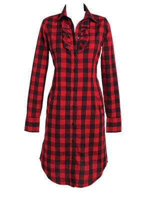 Kirstie Plaid Dress