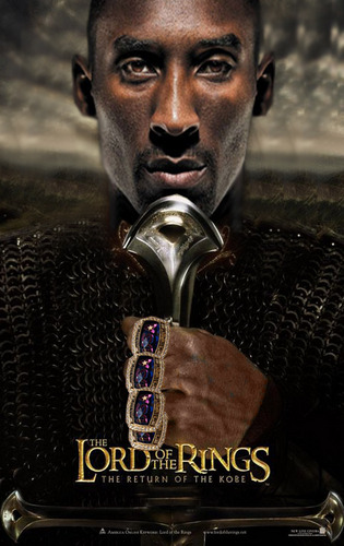 Kobe Lord of the Rings