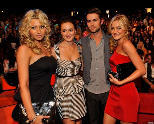 Leighton and Chace on the 2009 Teen Choice Awards