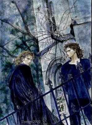 Lestat and Armand at the Tower