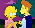 Lisa and Hugh - lisa-simpson screencap