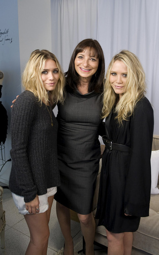 Mary-Kate and Ashley at the Holt Renfrew store on Bloor Street