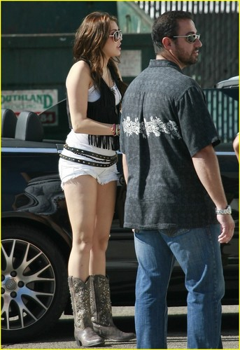 Miley in Burkbank