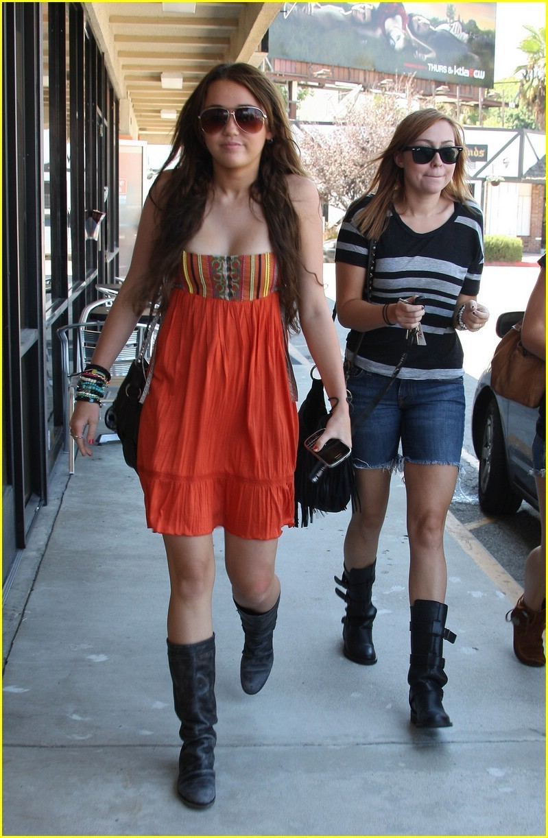 Miley in California