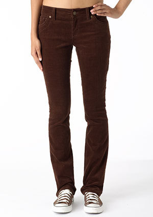 morgan Low-Rise Skinny Cord