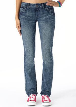 morgan Low-Rise Skinny Jean