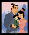 Mulan's Family - disney-couples fan art