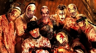 Metal wallpaper containing anime called Mushroomhead