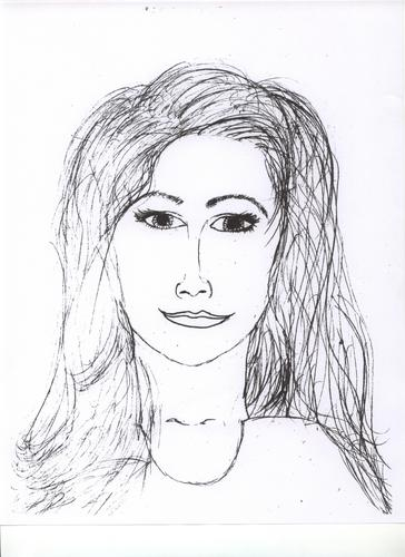 My Drawing of a Woman