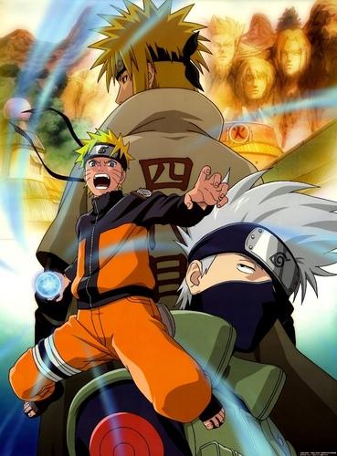 Naruto, Kakashi Hatake & Yondaime