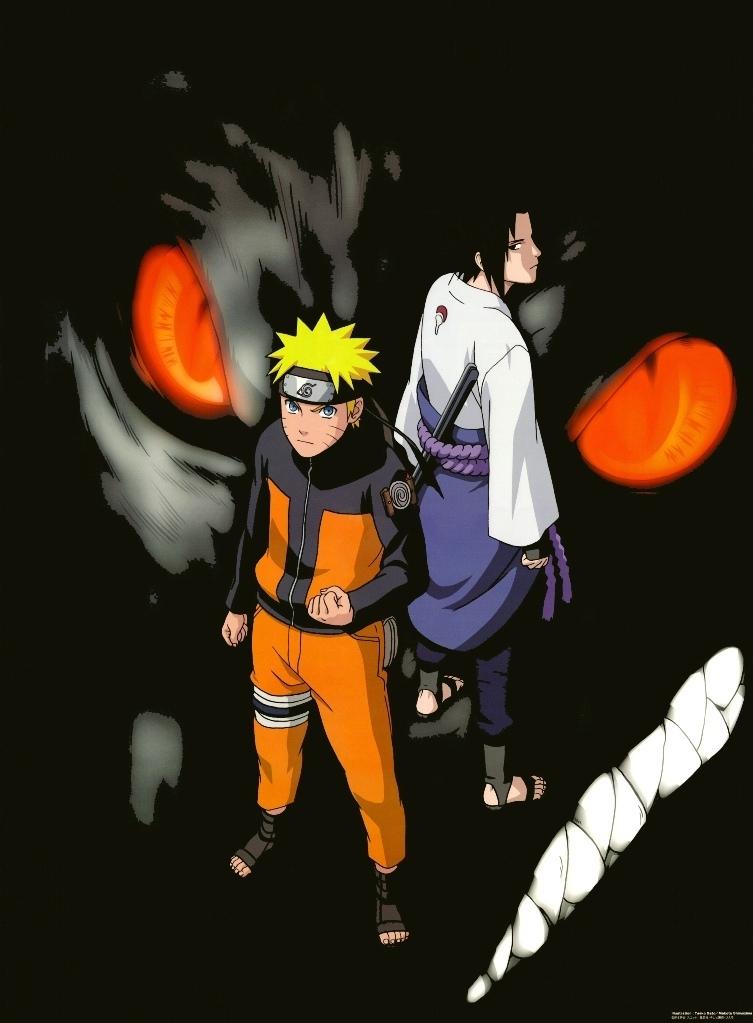 naruto shippuden wallpaper sasuke. Naruto and Sasuke
