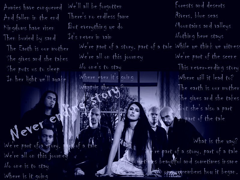 Never ending story by Within Temptation <3 - Song Lyrics Fan