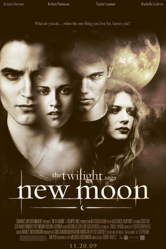 New Moon fan Made Poster [Not me]