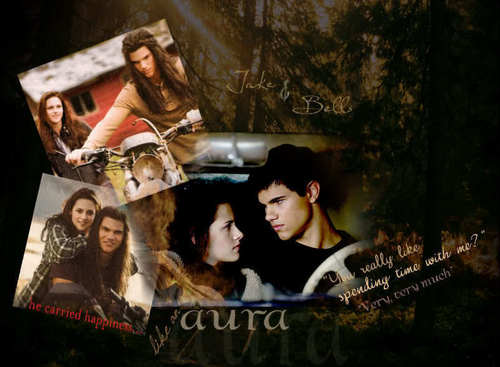 New Moon- Jake and Bella