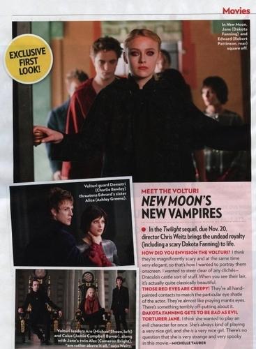 New Moon New vampires (Alice in 2 pics)
