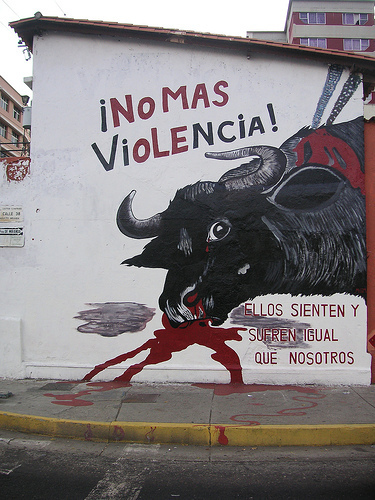 No 更多 Violence!