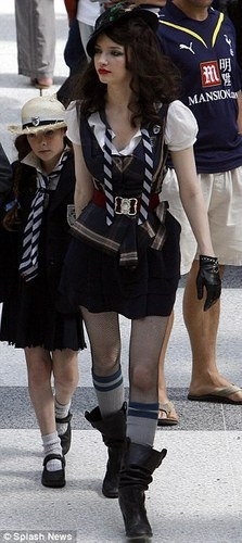 On the set of St. Trinian's II