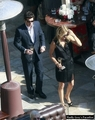 Patrick Dempsey and Wife in Beverly Hills