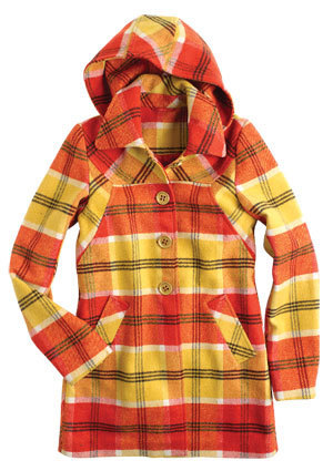 Payton Plaid कोट