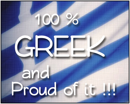 Greek girls wallpaper probably with a chainlink fence titled Proud to be Greek !