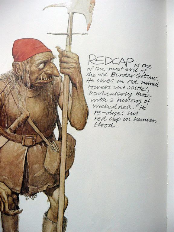 Redcap - Faeries book (1978)