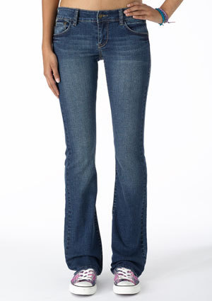 Reese Low-Rise Boot Jean