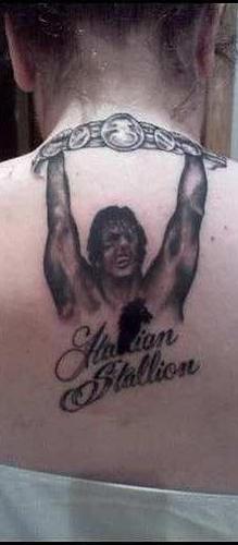 Rocky Tattoo