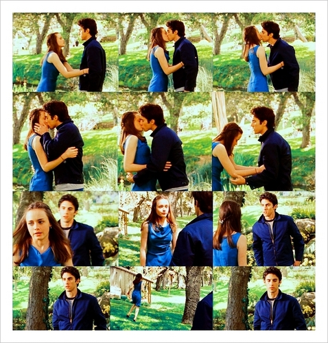 Rory and Jess First Kiss Picspam