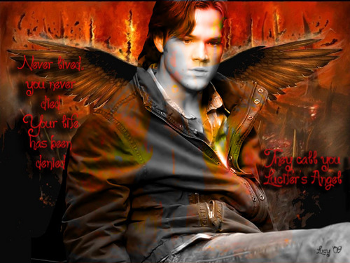 Sam - Lucifer's Angel (for the SPN contest)