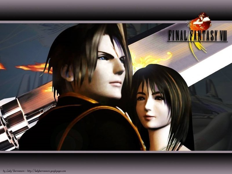 squall Final Fantasy Rinoa And Squall
