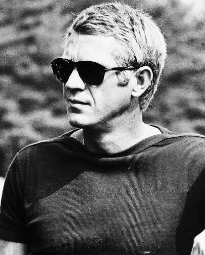 Steve McQueen wallpaper containing sunglasses called Steve McQueen
