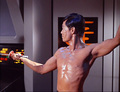 Sulu - The Naked Time (episode1x04) - sulu-and-chekov screencap