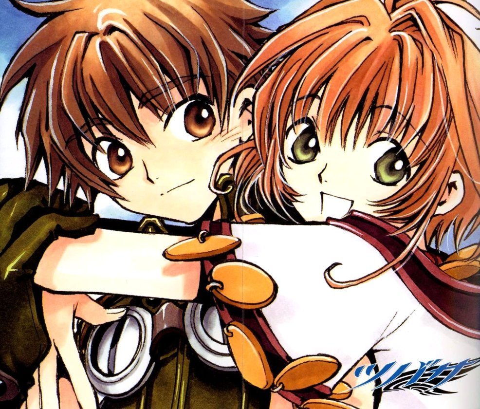 sakura and syaoran - photo #33
