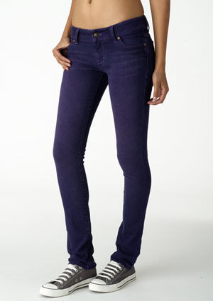 Taylor Low-Rise Super Skinny Overdye Jean
