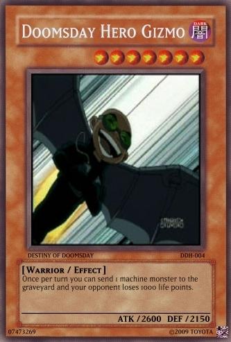 Teen titan Yu-gi-oh