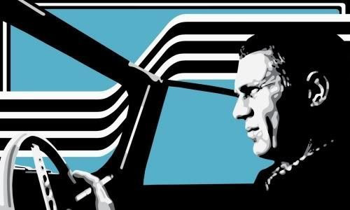 Steve McQueen wallpaper probably with anime called The King of Cool