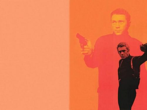Steve McQueen দেওয়ালপত্র probably with a portrait called The King of Cool