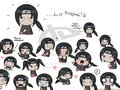 The Many Faces Of Itachi - itachi-uchiha fan art