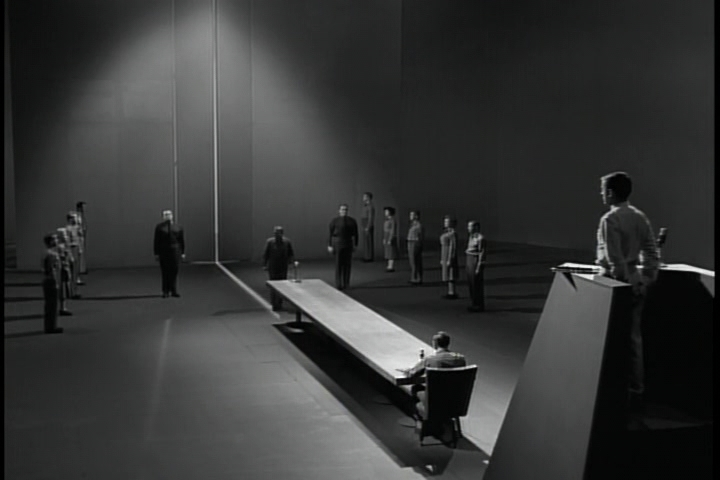 The Twilight Zone: The Obsolete Man (1961)