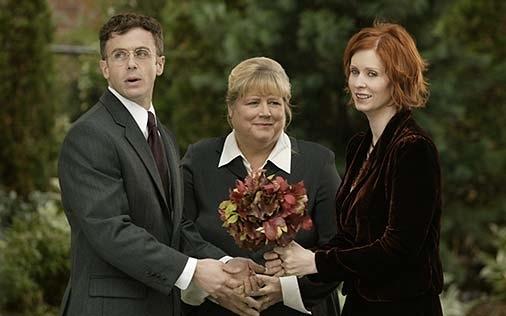 The Most Heartwarming Weddings Ever Seen on TV The Wedding steve and miranda 7813688 506 316 jpg