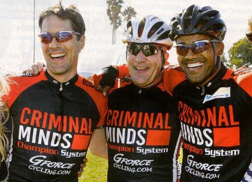 Thomas, Mandy and Shemar at a CM Charity Bike Cycle